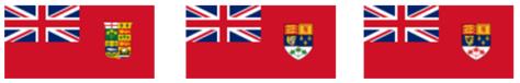 canada drie vlaggen