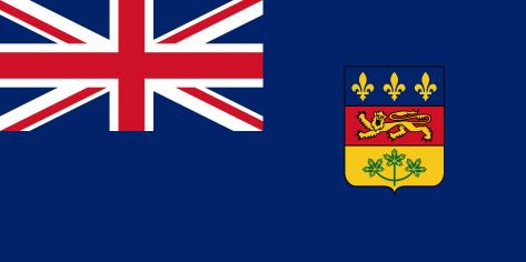 quebec blue ensign