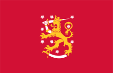 Vlag Finland oud