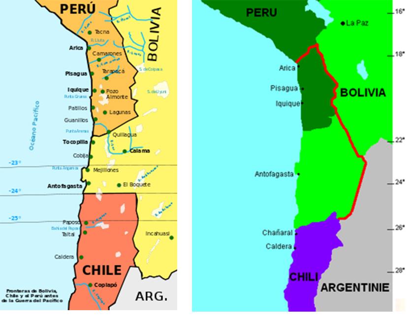 Chili landkaartjes