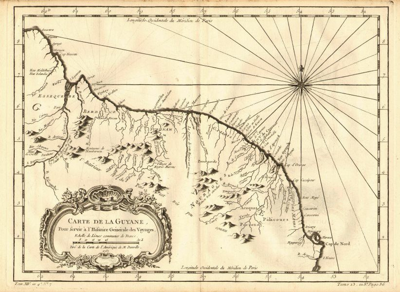 Guyana old map