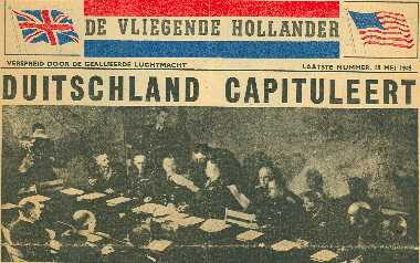Krant Vliegende Hollander