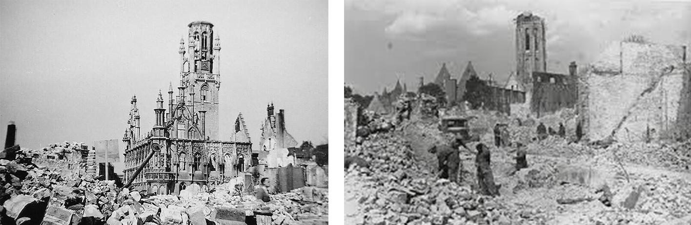 Middelburg verwoesting