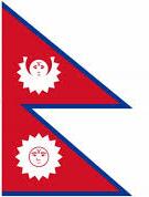 Oude vlag Nepal