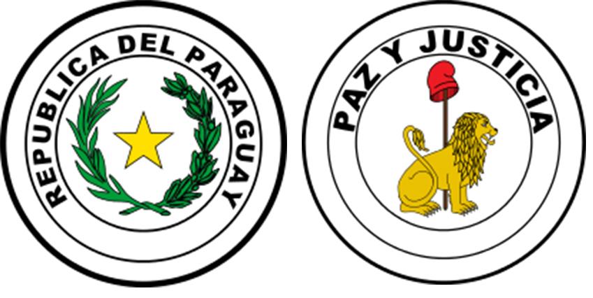 paraguay symbolen naast elkaar