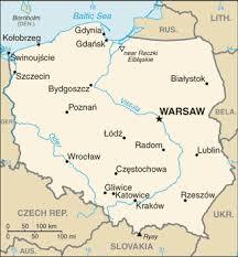 Polen map