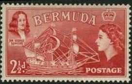 Postzegel recht Bermuda