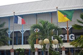 Tricolore en vlag Frans Guyana