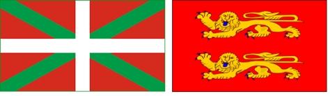 baskenland naast elkaar
