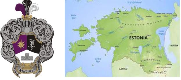 estland kaart