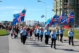Parade Reykjavik