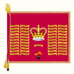 Vaandel 1st Battalion Grenadier Guards