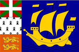 Vlag Saint Pierre