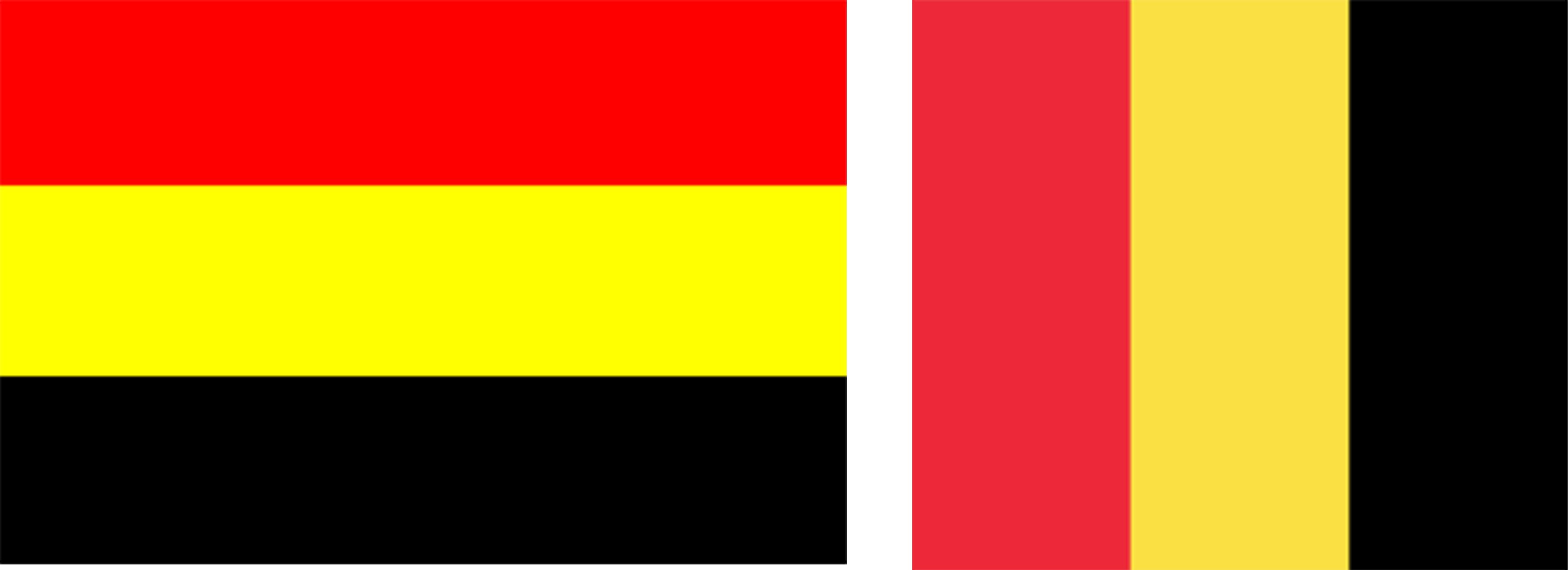 belgie eerste vlaggen