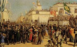 Boceta para la Jura de la Constitución de 1830
