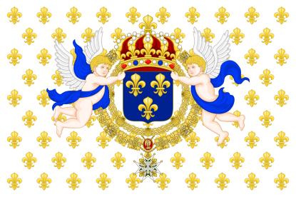 Bourbon-vlag Frankrijk