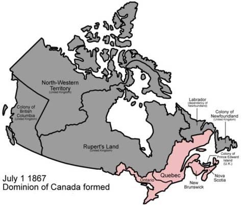 Dominion Canada 1867