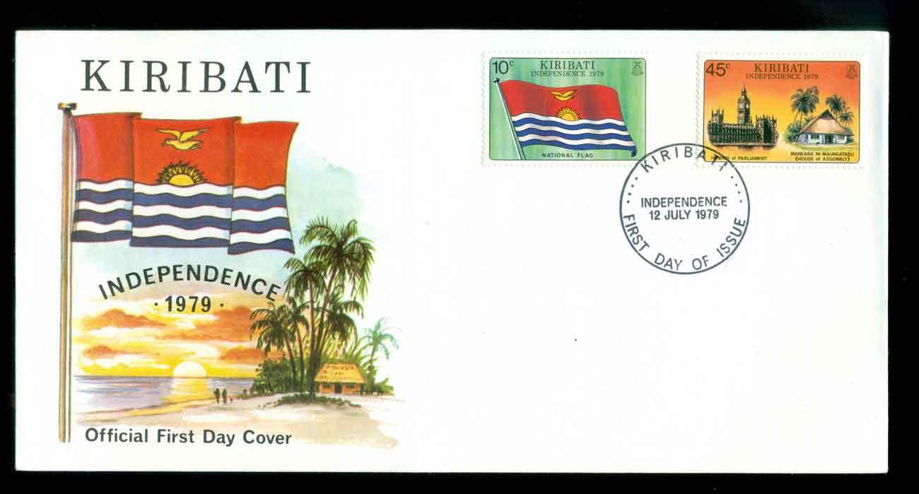 Eerste dag-envelop Kiribati
