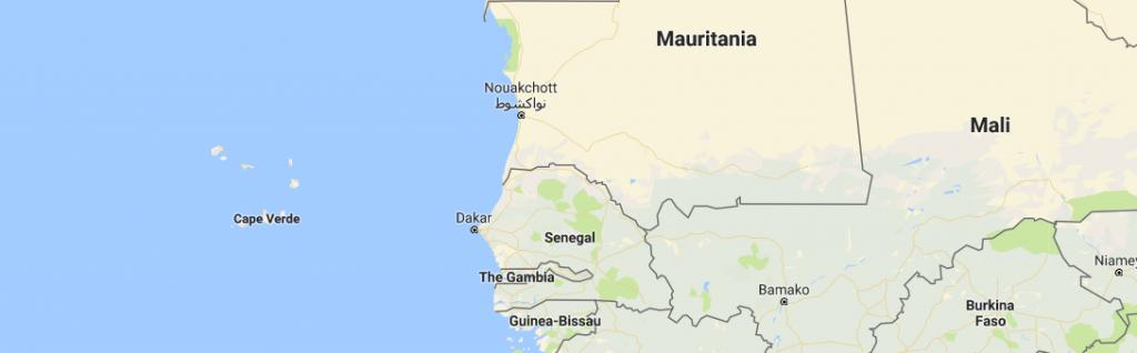 Kaapverdië + Guinee-Bissau