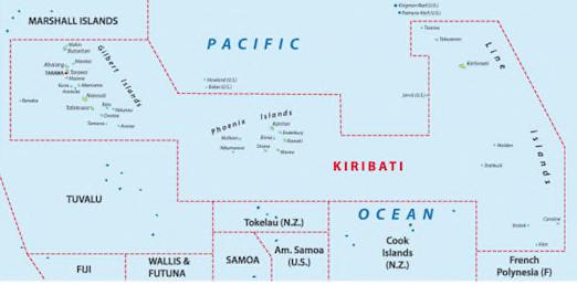Kiribati close-up