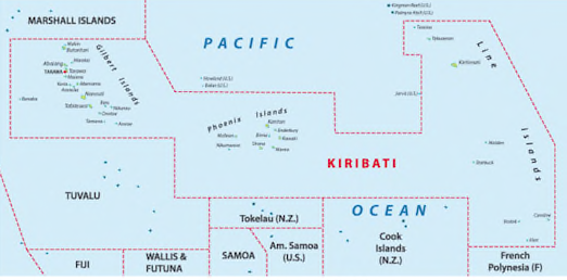 Kiribati close-up