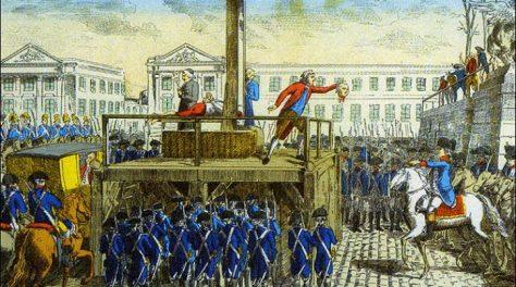 Lodewijk XVI dood schavot