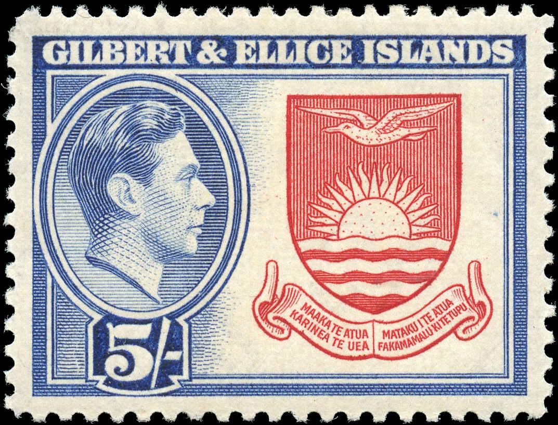 Postzegel Gilbert & Ellice Islands
