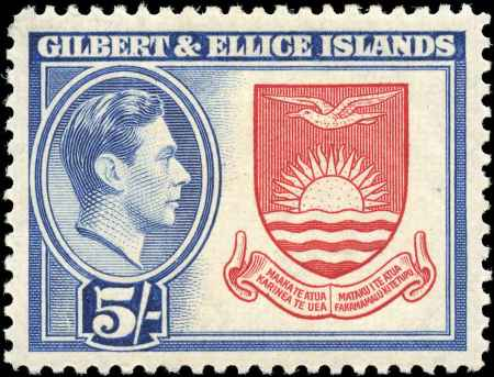 Postzegel Gilbert & Ellice Islands