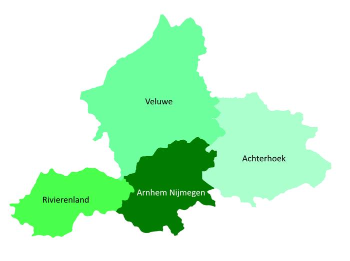 Regio's Gelderland