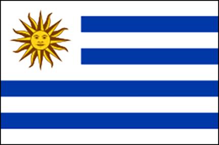 Vlag Uruguay