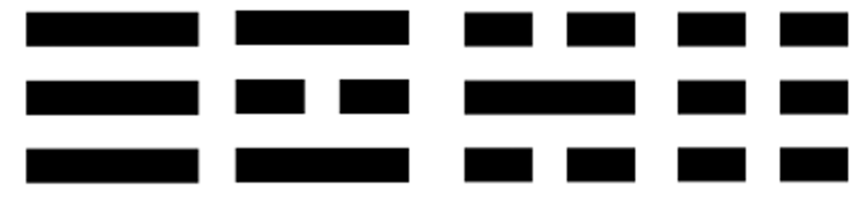 Zuid Korea Trigrammen