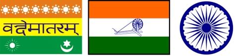India vlaggen