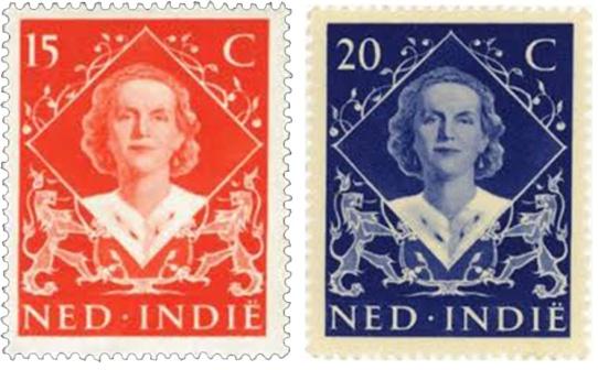 indonesie 08 postzegels