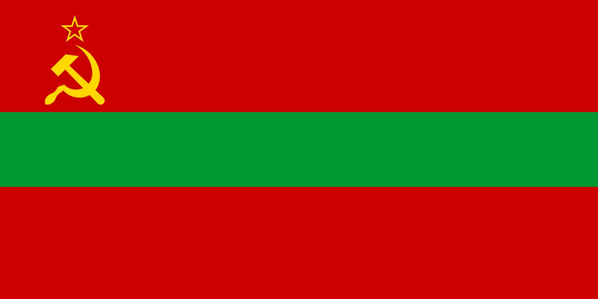 Moldavië Sovjetvlag