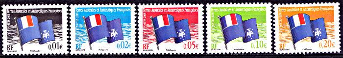 Postzegels TAAF