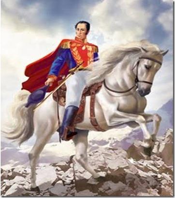 Simón Bolívar op Palomino