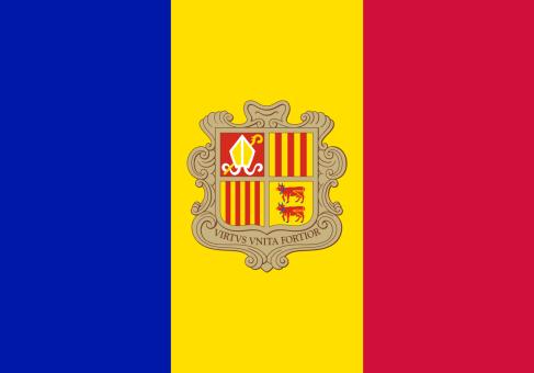 Andorra vlag