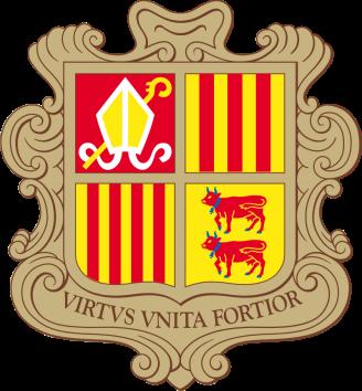 Andorra wapen