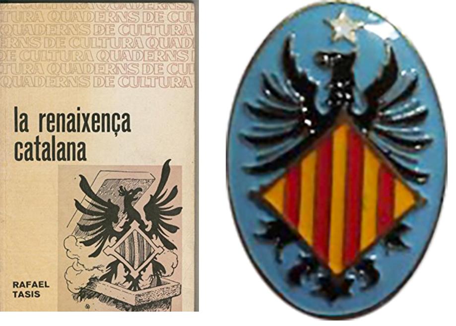 catalonie boek badge
