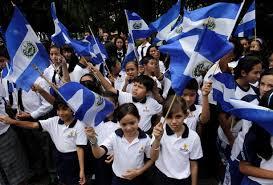 El Salvador menigte
