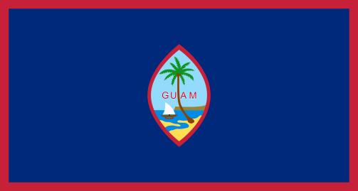 Guam vlag