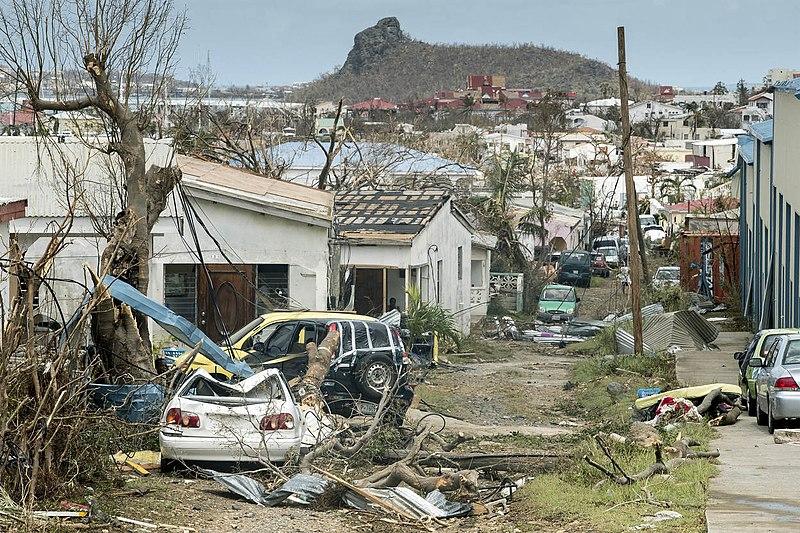 Verwoesting Sint Maarten