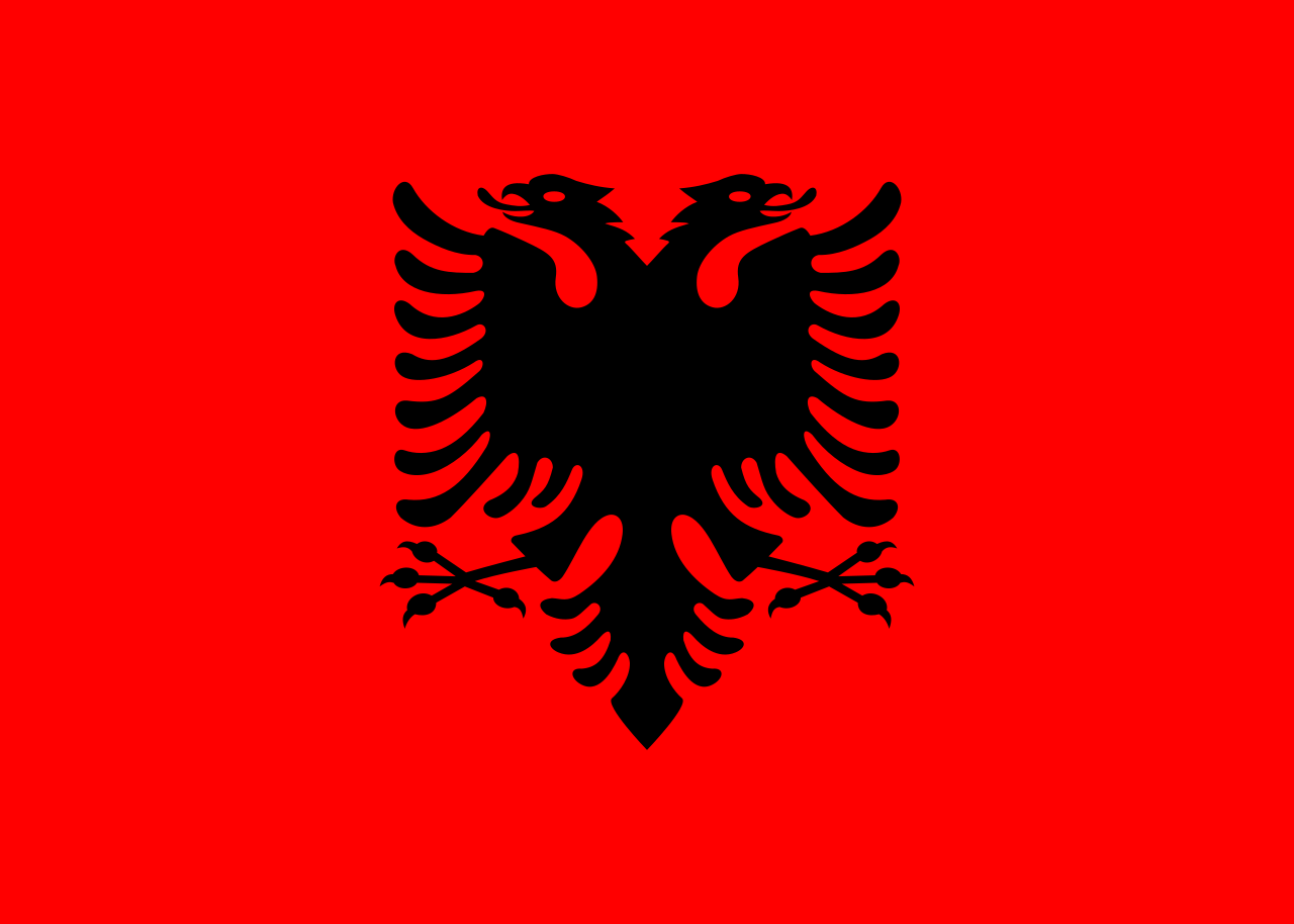 Albanië vlag