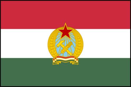 Hongarije vlag 1949-1956