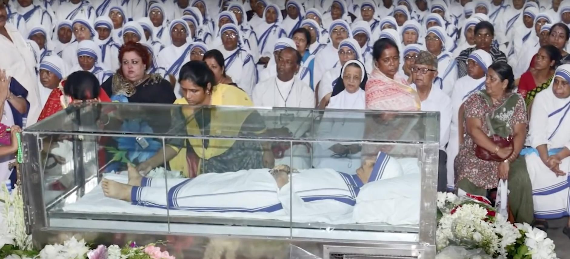 Moeder Teresa begrafenis