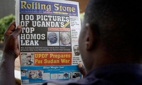 Oeganda - Rolling Stone-artikel