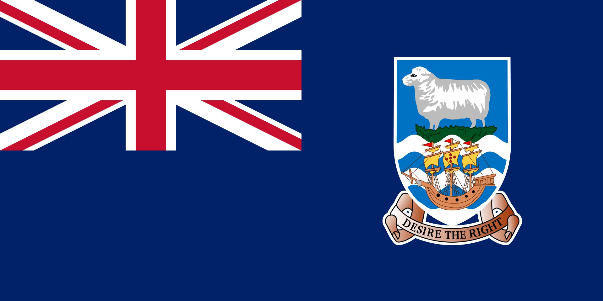 Falklands - vlag
