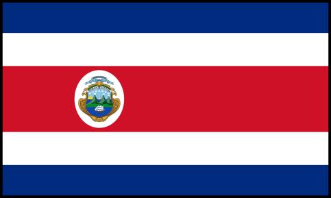 Costa Rica vlag